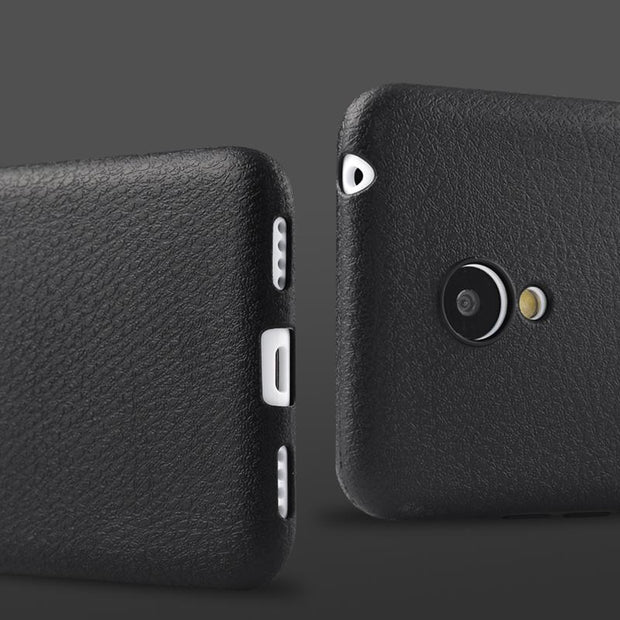 For Meizu M3s Phone Case, Fashion Leather Texture Soft Silicon Back Cover Case For Meizu M3s Mini 5.0 Inch Phone Case Cover
