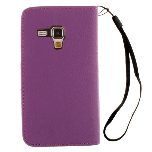 For Samsung Galaxy Ace II X 2 S7560M S 7560m GT-S7560M Flip Case Phone Leather Cover For Galaxy Trend S7560 S 7560 GT-S7560 4.0""