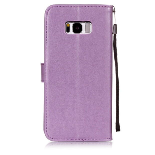 For Samsung Galaxy S8 S9 Case Luxury PU Leather Case For Samsung Galaxy S8 Case Plus Wallet Samsung S8 S6 S7 Cover Phone Bags