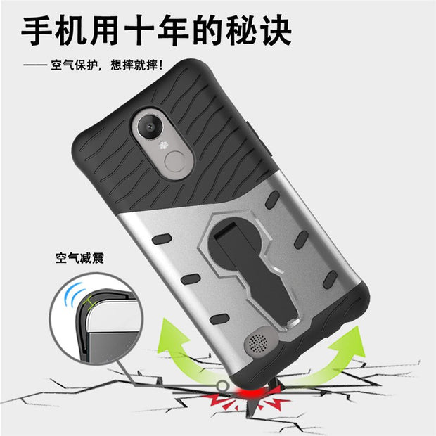 Heavy Shockproof Anti-shock 360 Degree Kickstand TPU+PC Hybrid Case For LG K20 Plus/LG K10 2017/LG LV5/LG Harmony/LG K20 V