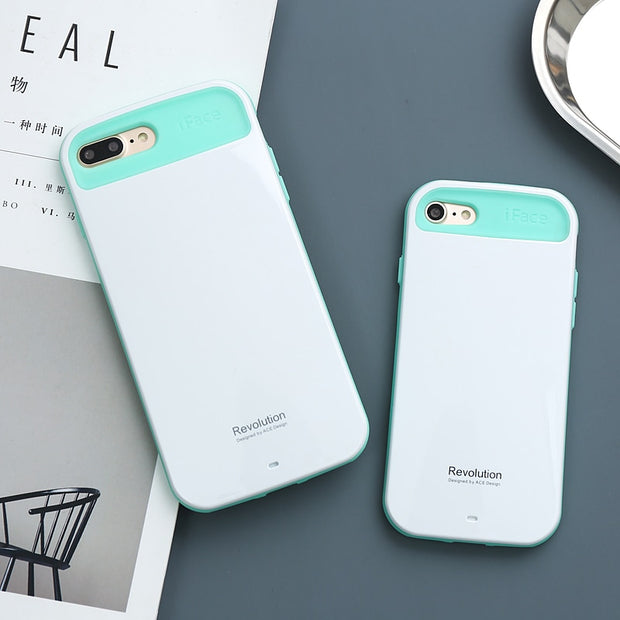 separation shoes aed0c 4dfbb IFace Case For IPhone X 7 8 Plus 6 6s Plus Cute Kawaii Beauty Coque For  Iphone 8 Cases Shock Absorption Anti Fingerprint