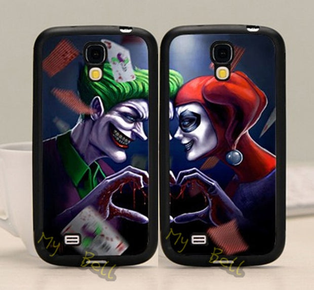 Joker And Harley BFF Best Friends Love Pair TPU Phone Cases For Samsung S5 S6 S6edge Plus S7 S7edge S8 S8plus Note5 Note8 Note9