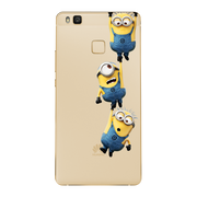 Most Popular Soft Silica TPU Cover Anti Falling Mobile Phone Shell Minion Mickey Cute Funny For Huawei P8 Lite P9 P9 Lite Case