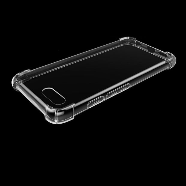 Transparent Shockproof Anti-skid TPU Gel Skin Soft Case Cover For OnePlus 5