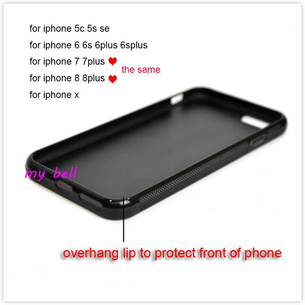 Two Girls BFF Best Friends Heart Matching Silicone Phone Cases For IPhone 5s Se 6 6s Plus 7 7plus 8 8plus X XR XS MAX Cover Case
