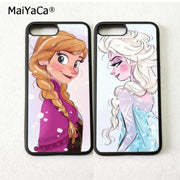 Two Girls Best Sister BFF Best Friends Love Pair Soft Phone Cases For IPhone 5s Se 6 6s Plus 7 7plus 8 8plus X XR XS MAX Cover