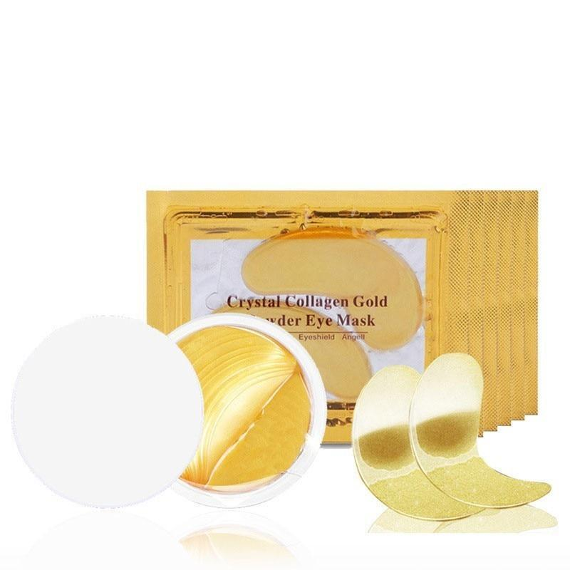 5 Pack Of Gold Collagen Eye Masks