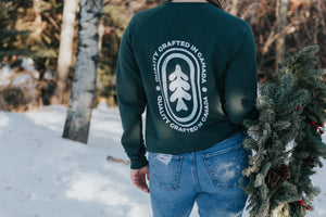 Retro Cabin Life Sweater