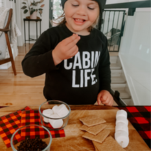 Load image into Gallery viewer, Cabin Life Sweatshirt - Toddler (up to age 7)