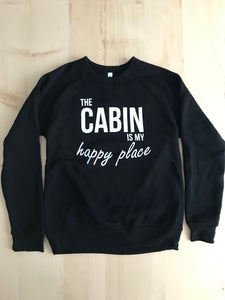 Happy Cabin Fleece Sweater