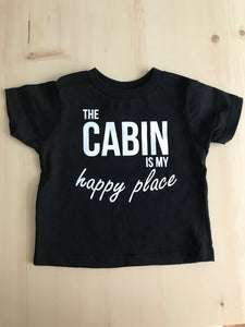 Happy Cabin - Toddler T