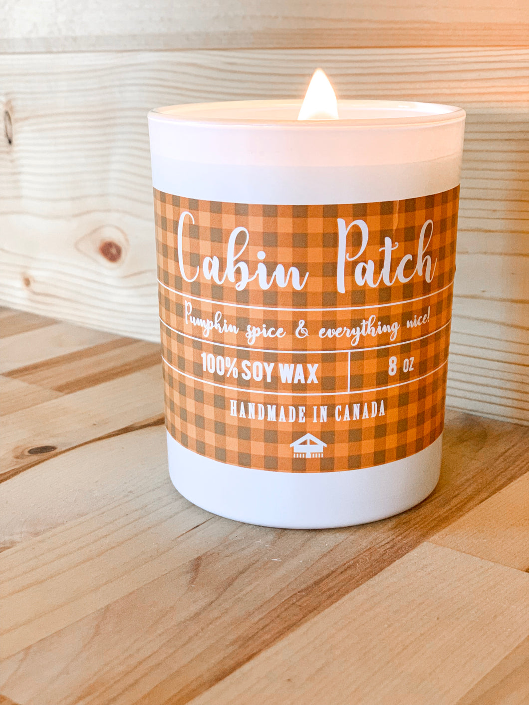 Cabin Patch Candle
