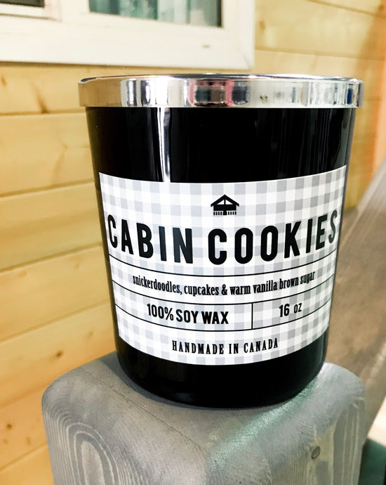 Cabin Cookies Candle