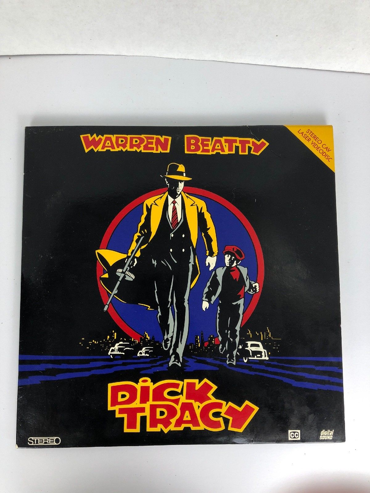 Laserdisc * Dick Tracy * Madonna Warren Beatty