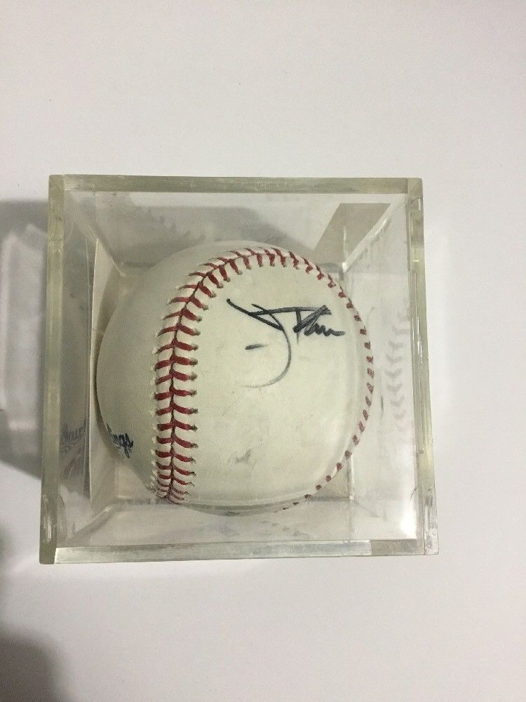 Jim Thome Autographed Major League Baseball COA