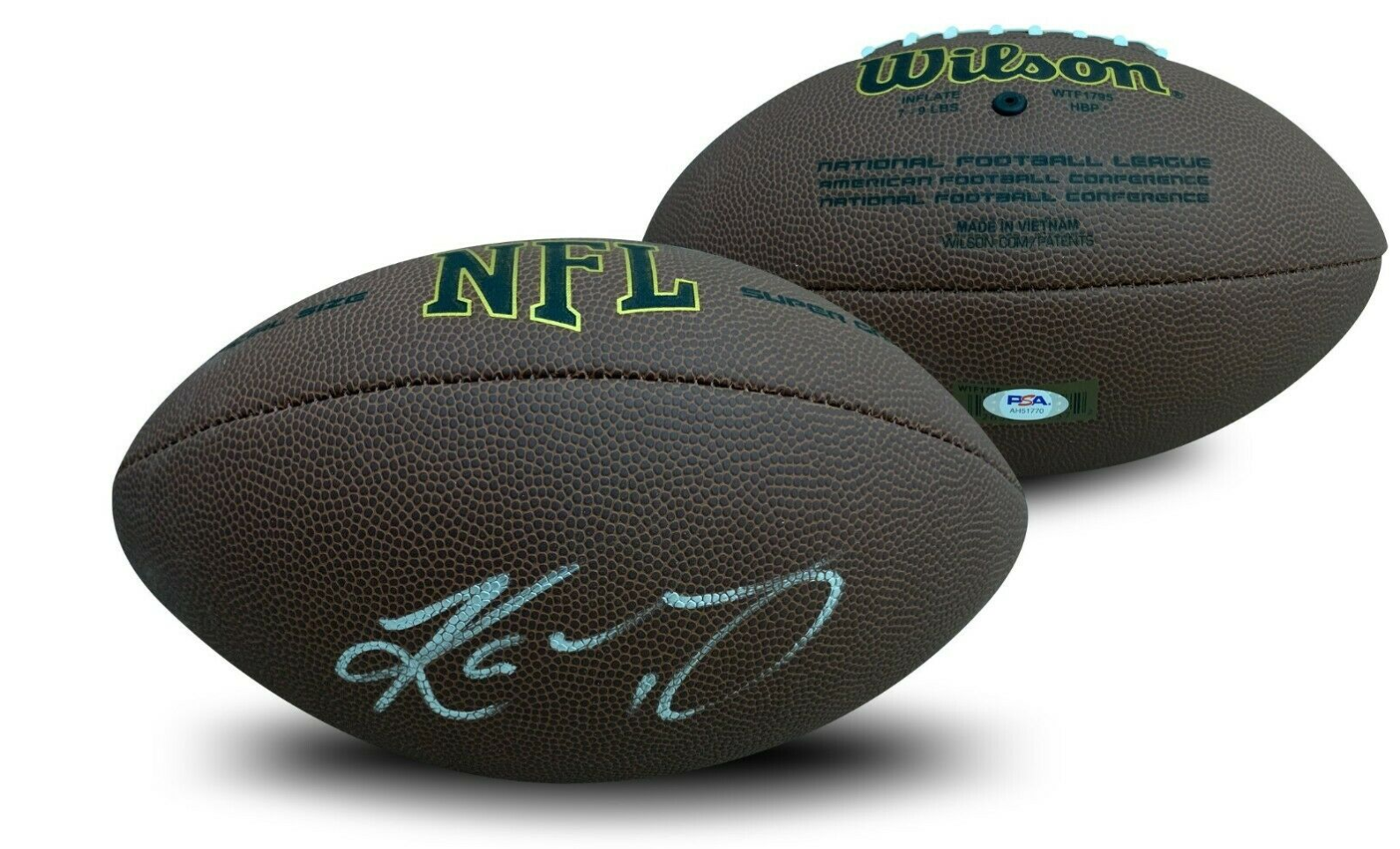 Kyler Murray Autographed Football PSA COA