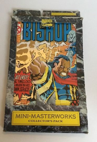 Bishop 1-4 book SET Marvel Comics Mini-masterworks  X-men