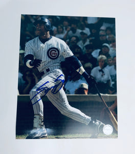 Sammy Sosa Autographed 8x10 Photo With COA