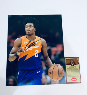 Collin Sexton Autographed 8x10 Photo With COA