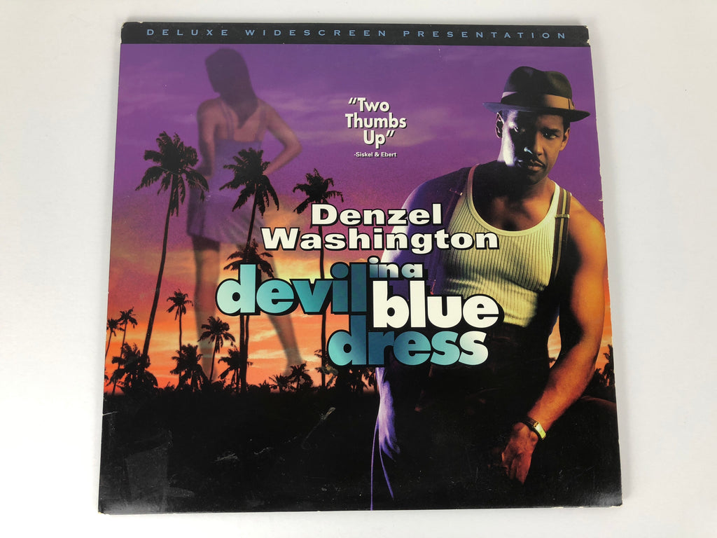Devil in a Blue Dress Denzel Washington Laserdisc