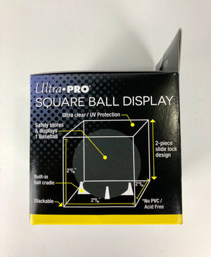 Ultra Pro Square Baseball Display Case With Stand