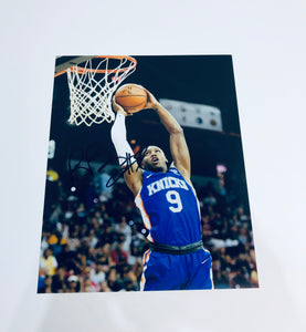 RJ Barrett Autographed 8x10 Photo With COA