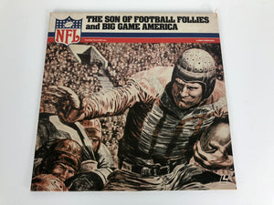 SON OF FOOTBALL FOLLIES AND BIG GAME AMERICA, THE Laserdisc LD GOOD CONDITION