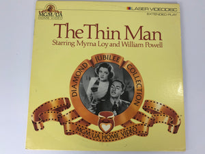 The Thin Man Diamond Jubilee Edition Collection Laserdisc