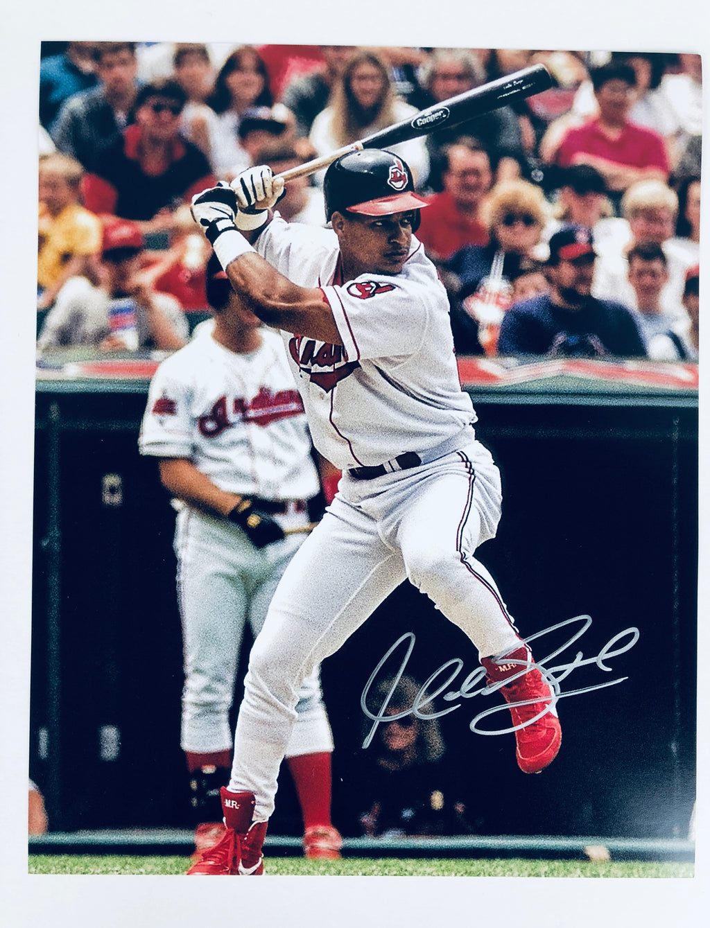 Manny Ramirez Autograph 8x10 Photo with COA