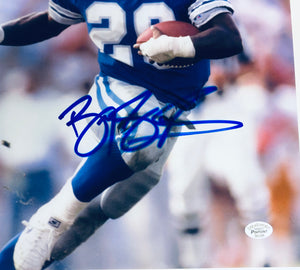 Barry Sanders Autographed 8x10 Photo With COA