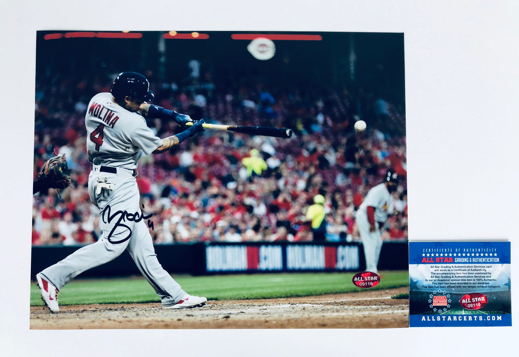 Yadira Molina Autograph 8x10 Photo with COA