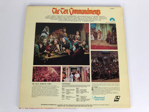 Laserdisc {j} * The Ten Commandments * Charlton Heston Yul Brynner Anne Baxter