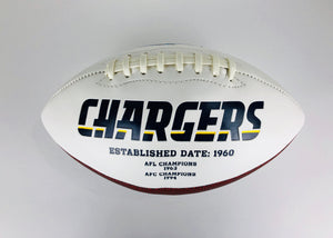 Melvin Gordon Signed Los Angeles Chargers NFL Football