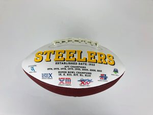 Terry Bradshaw Autographed Football With COA