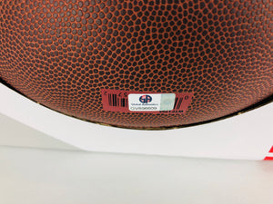 Calvin Johnson Autographed Signed Football W/ COA