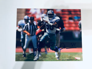 Michael Irvin Autographed 8x10 Photo With COA
