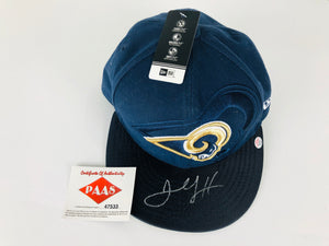 Jared Goff Autographed Hat With COA