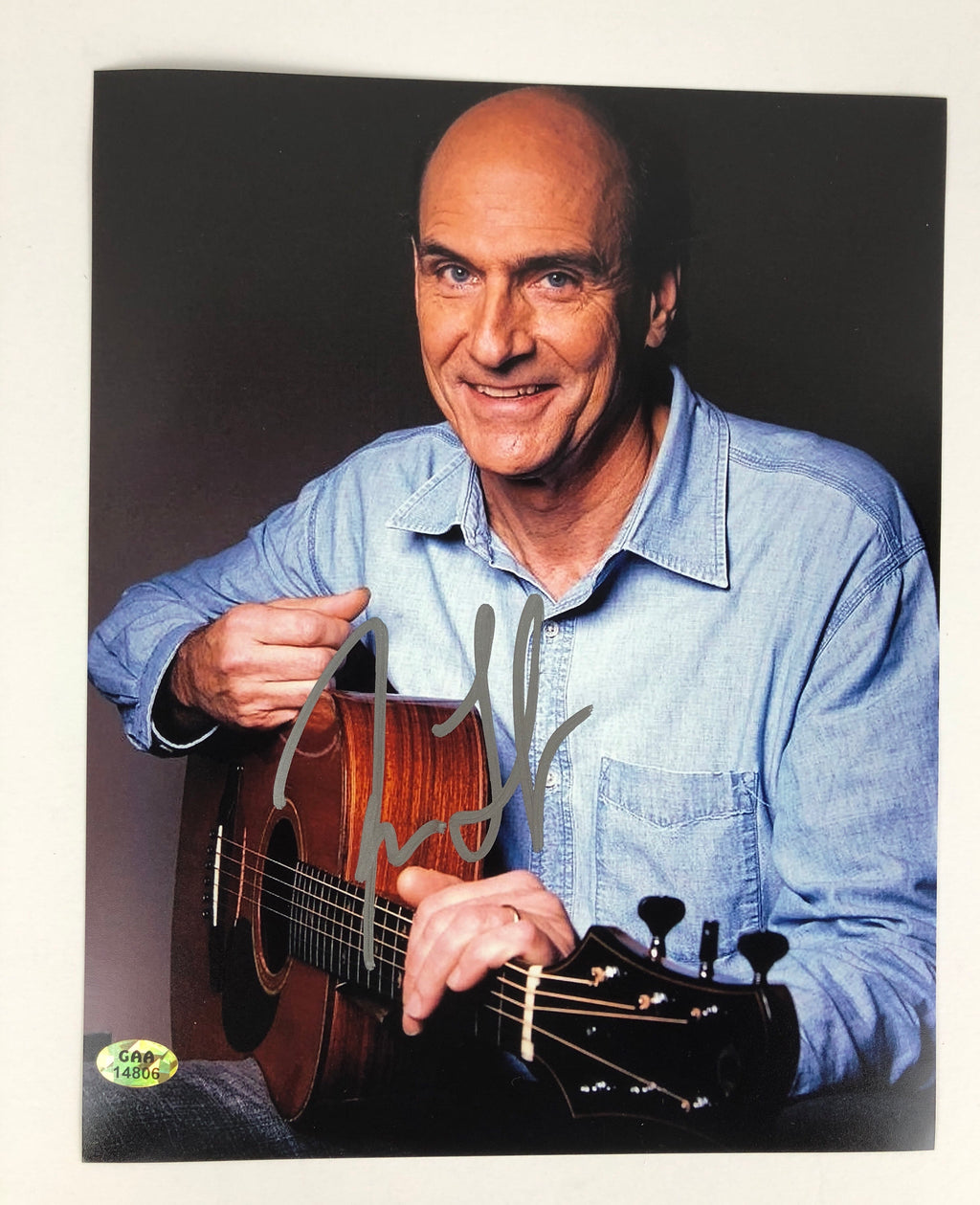 James Taylor Autographed 8x10 Photo W/ COA