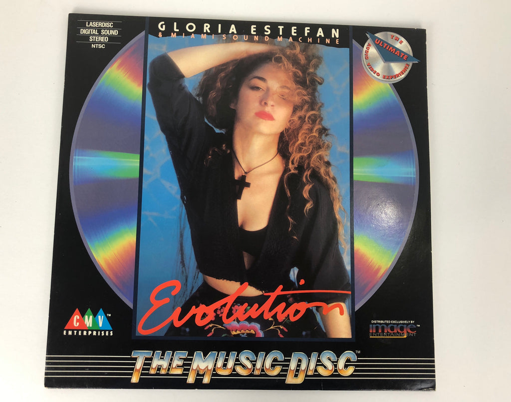 GLORIA ESTEFAN AND THE MIAMI SOUND MACHINE EVOLUTION LASERDISC