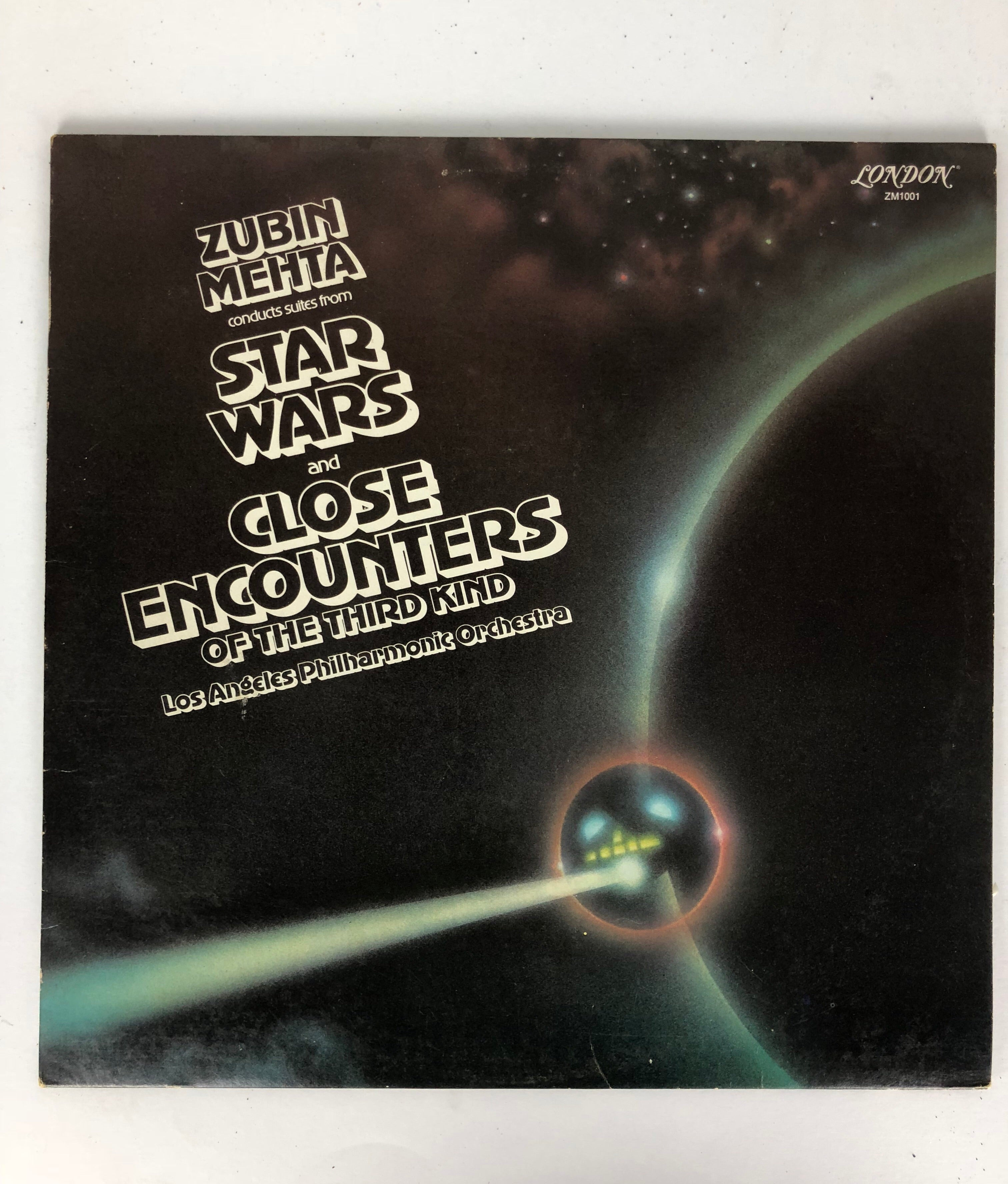 ZUBIN MEHTA CONDUCTS FROM STAR WARS & CLOSE ENCOUNTERS OF 3RD KIND ALBUM Vinyl