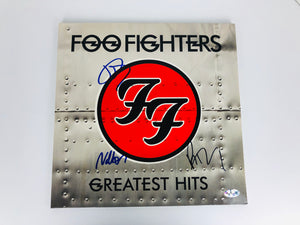 Foo Fighters Foo Fighters Greatest Hits Vinyl Record Autograph with COA