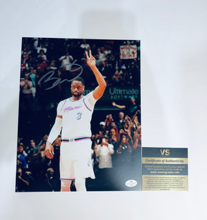 Dwayne Wade Autographed 8x10 Photo With COA