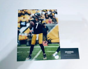 Ben Roethlisberger Autographed 8x10 Photo With COA