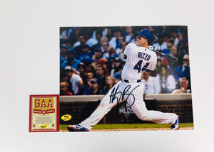 Anthony Rizzo Autographed 8x10 Photo With COA