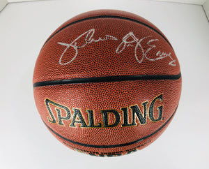 Julius Erving Dr J Autographed Basketball With COA