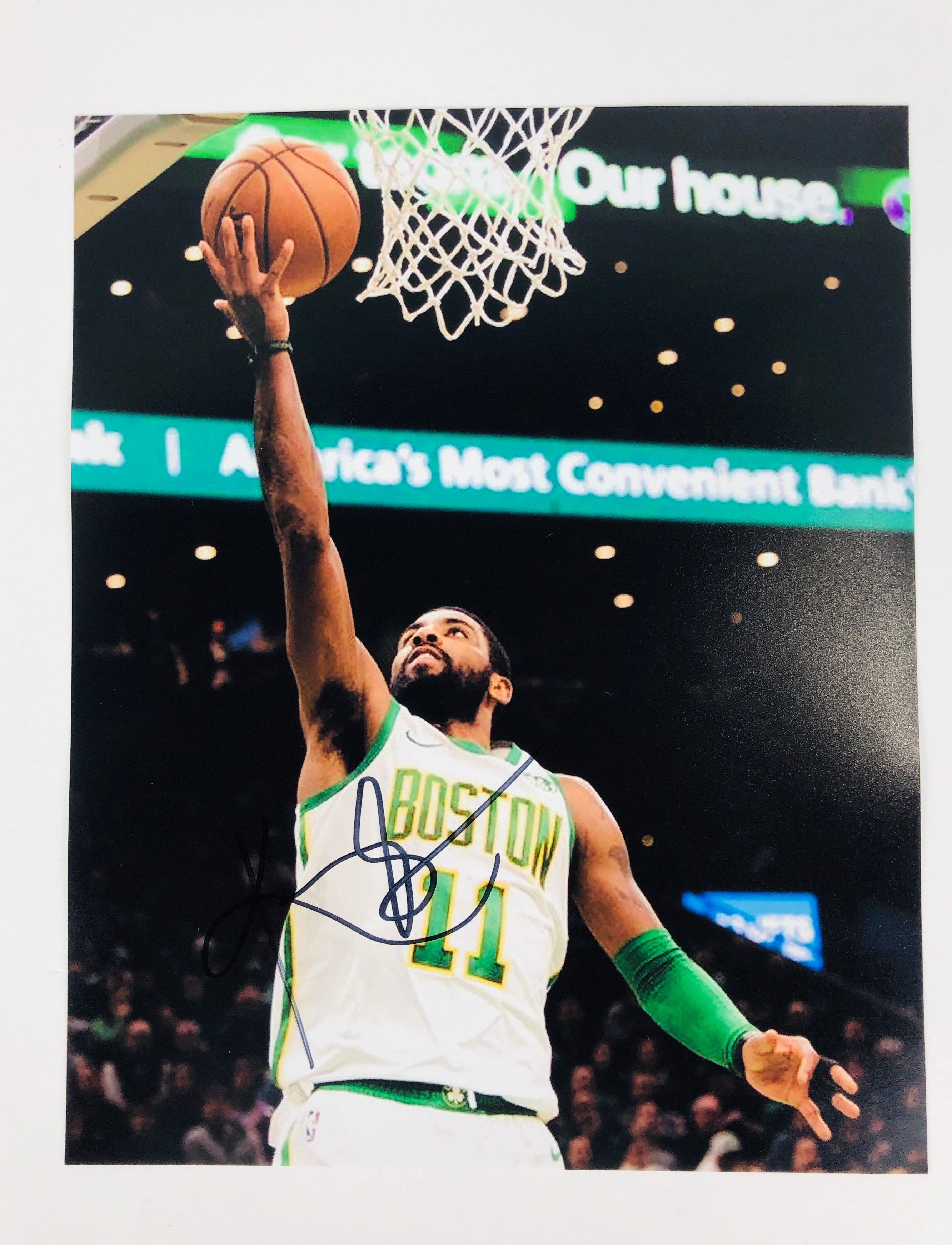 Kyrie Irving Autographed 8x10 Photo