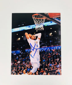 Russell Westbrook Autographed 8x10 Photo With COA
