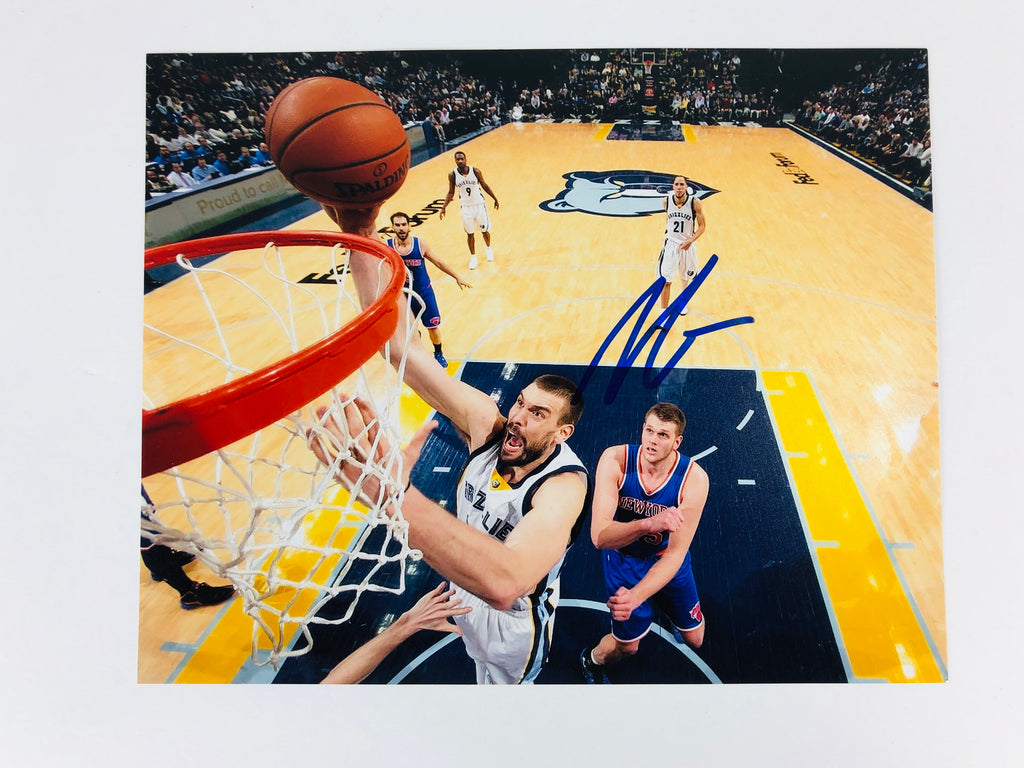 Marc Gasol Autographed 8x10 Photo