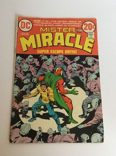 MISTER MIRACLE #15 DC BRONZE AGE COMIC BOOK