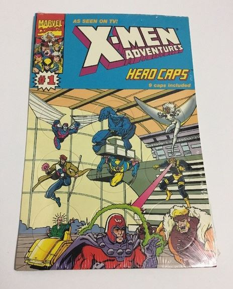 X-Men Adventures Hero Caps (Marvel) 1993 NM